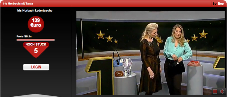 Iris Horbach bei 123 TV