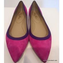 Scho Shoes Ziegenvelour zweifarbig