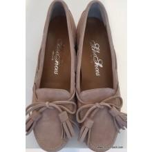 Loafer von Scho Shoes in ziegenvelour-Leder