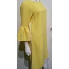 Kleid gelb mit Streifen Iris Horbach