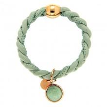 Armband Nahima, rosegold/mint
